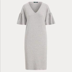 Ralph Lauren Ruffle sleeve sweater dress